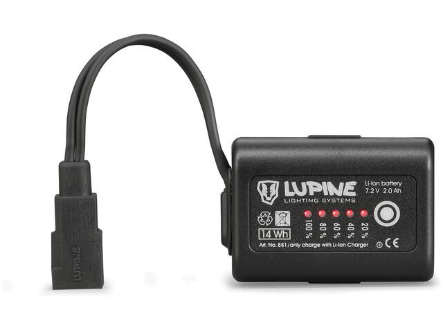 Lupine 2,0 Ah SmartCore FastClick black